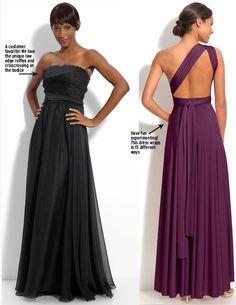 Trending: Long & Lovely Bridesmaid Dresses