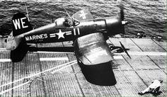 Black Sheep  VMF - 214 Korea, USS Sicily, 1950