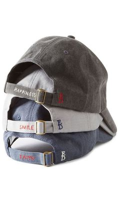 11 Stylish Pieces From Ellen DeGeneres's New Line That'll Make You Smile ED by Ellen Degeneres Smile Baseball Cap Baseball Cap Outfit, Baseball Hats, Funny Baseball, Indians Baseball, Baseball Mom, Foto Blog, Hat Hairstyles, Cute Hats, Dad Hats