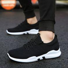 Men Sneakers tennis Shoes Outdoor Sports Breathable Ladies Male High Quality Tennis shoes Female sporty Man Sneakers white Price: 9.51 & FREE Shipping #bag #chanel #clothes #siambrandname #followme #luxury #sbn #happy #follow #fashionblogger #summer #instadaily Knit Sneakers, Casual Sneakers, Sneakers Nike, Sports Footwear, Sports Shoes, Hard Wear, Lace Up Shoes, New Fashion, Sporty