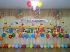 Как украсить музыкальный зал на выпускной в детском саду