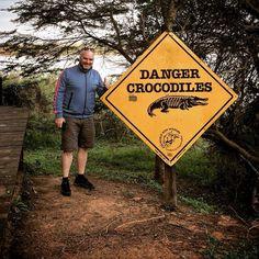 #exciting #sunset #walk #southafrika #stlucia #dowellafrica #crocodile #hippo #shark