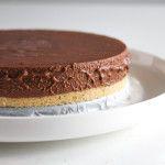 Chocolade mousse taart - met bonbonbloc - Vertruffelijk