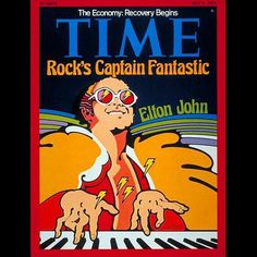 Elton John on the cover of TIME in July 1975. Read more on ti.me/eltonjohn and travel back to the Seventies each Thursday at 9p ET/PT on CNN #70sTimeCovers by time