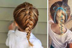 12 peinados adorables y rápidos para niña 2