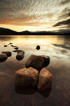 Loch Morlich at the base of Cairngorm, Scotland - Photo by Tony Armstrong