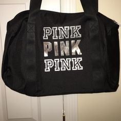 VS PINK tote This bag has never been carried and it is super cute and can carry your stuff delightfully  PINK Victoria's Secret Bags Totes