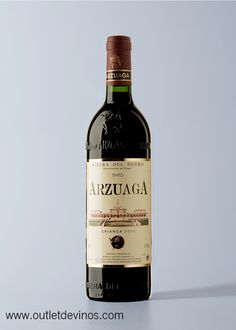 Arzuaga Crianza 2011 | Outlet de vinos - Bodegas Arzuaga-Navarra - Ribera del Duero -Tinto - Tempranillo, Cabernet Sauvignon, Merlot