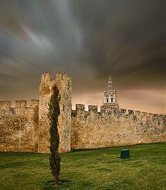 Murallas de El BURGO de OSMA (SORIA)
