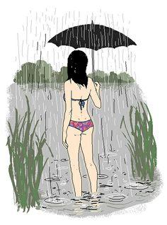 aut. Endo (Agata Endo Nowicka) Oliver Hibert, Parasol, Umbrellas, Rainy Days, Lineup, Disney Characters, Fictional Characters, Artsy, Disney Princess