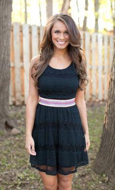 The Pink Lily Boutique - Got It Together Black Dress, $39.00 (http://thepinklilyboutique.com/got-it-together-black-dress/)