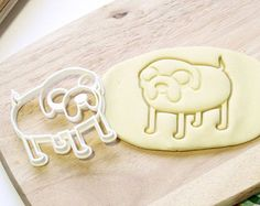 Finn Adventure Time Jake Dog Cookie Cutter - Etsy