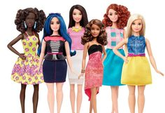 Barbie Dolls Get Make Over; Now in Different Body Shapes and Color - http://www.australianetworknews.com/barbie-dolls-get-make-now-different-body-shapes-color/