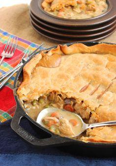 Skillet Chicken Pot Pie | The Suburban Soapbox