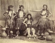 ANCIENT HULA -- True traditional hula & Hawaiian chants were outlawed in Hawaii.