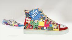 Gianmarco Lorenzi pop art shoes