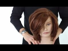 Medium Length Haircutting Class With Guest Artist Tom Harris - FreeSalonEducation.com - YouTube