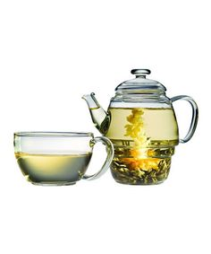 for my herbal friends - 50% off ($14.99) borosilicate glass tea set - ends in a few hours