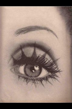 Julie Driscoll by Richard Avedon for Vogue Good for Halloween make-up Makeup Inspo, Makeup Art, Makeup Inspiration, Beauty Makeup, Eye Makeup, Hair Makeup, Hair Beauty, Richard Avedon, Eyeliner