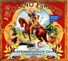 Los-Angeles-California-Solano-Orange-Citrus-Fruit-Crate-Label-Art-Print