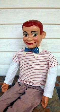 Howdy Doody Ventriloquist Doll by DayJahView on Etsy, $85.00