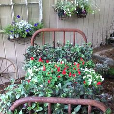My rusty flower bed...... Or is it bed of flowers?