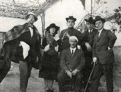 Salvador Dalí, Luis Buñuel, Federico García Lorca & others