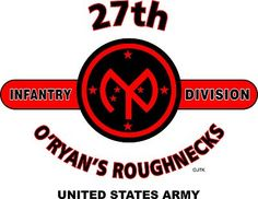"""27th Infantry Division """"O'Ryan's Roughnecks"""" United States Army Shirt"""