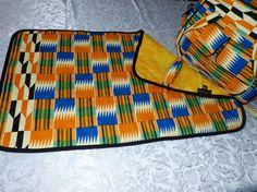 Diaper bag Change Pad  Utility bag African by TessWorldDesigns, $120.00