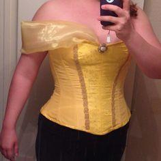 Pattern Review: TV110 - Belle's corset