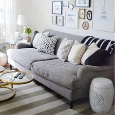 A round-up of gorgeous English roll-arm sofas, and links to where to buy them! (via Live Creating Yourself)