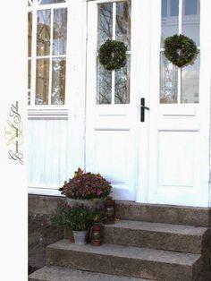 G r a n n e m e d S e l m a & Ytterdörr Dooria perfekt färg | Fönster \u0026 dörrar | Pinterest