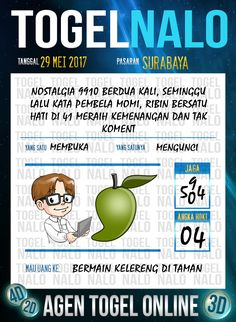 Pools JP 2D Togel Wap Online TogelNalo Surabaya 29 Mesi 2017