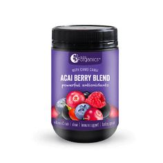 Just 1 heaped teaspoon Acai Berry Blend is equivalent to 1 punnet of berries! Nutra Organics Acai Berry Blend blend is equivalent to over of fresh berries. Nutra Organics Acai Berry Blend is a wholefood providing a dose of antioxidants. Acai Berry Powder, Cranberry Powder, Blueberry Powder, Beetroot Powder, Superfood Powder, Berry Juice, Raw Cacao, Superfoods, Whole Food Recipes