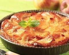 Flan aux pommes et mascarpone