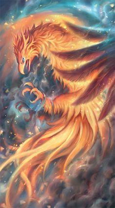 little-dose-of-inspiration: Phoenix by Kawiku
