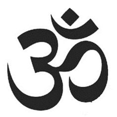 OM / AUM Symbol Large Wall Decal