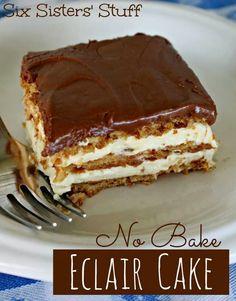 No Bale Eclair Cake...yum