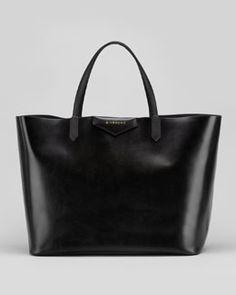 Givenchy Antigona Large Box Shopper Bag, Black