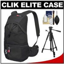 Best Cheap Deals Clik Elite Compact Sport Digital SLR Camera Backpack Case (Black) with Tripod Kit for Canon EOS 7D, 5D Mark II III, 60D, Rebel T3, T3i, Nikon D3100, D3200, D5100, D7000, D800, Sony Alpha A37, A55, A57, A65, A77 Kit includes:  ♦ 1) Cli Whether avocation or vocation, anyone intersted in photography should use the camera which matches their skill level.