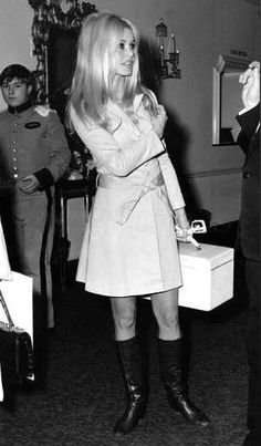 Brigitte Bardot, way ahead of her time, style wise