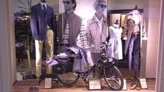 Brooks Brothers window display at Golden Hall S/S 2014