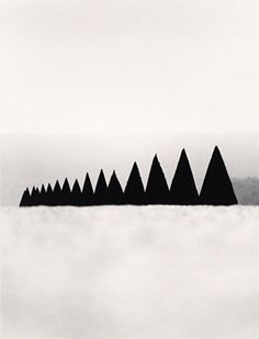 MICHAEL KENNA, CONICAL HEDGES VERSAILLES FRANCE 1988