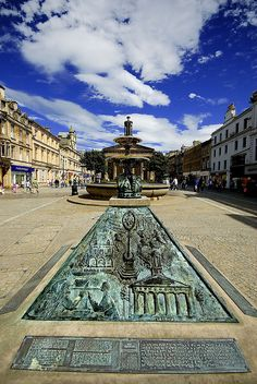 The town square in Elgin, Scotland. Home of the best toy shop from my childhood memories, and many cool Star Wars figures