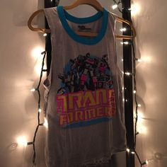 """""""The Transformers"""" shirt 🤖 Good for hot days at the beach, park or pool days. 😄 💕 Old Navy Tops Muscle Tees"""