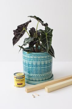 diy planter stand supplies