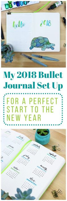 The new year is here! With the new year comes a feeling of energy, productivity, and action. I wanted to harness this energy, so I rolled up my sleeves and came up with my 2018 bullet journal setup! This will act as a map for the year ahead and work to help me achieve my goals successfully. I can officially say that I am ready to take on 2018! via @LittleCoffeeFox