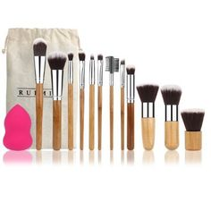 [$9.99 save 62%] Amazon Lightning Deal 77% claimed: RUIMIO 12 Pieces Makeup Brush Set Professional #LavaHot http://www.lavahotdeals.com/us/cheap/amazon-lightning-deal-77-claimed-ruimio-12-pieces/137498