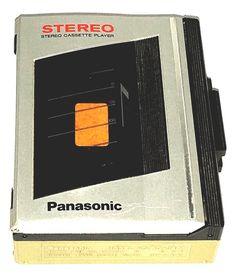 vintage panasonic rq-ja61 stereo cassette player walkman 80's  from $24.99
