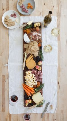 Cheese Plate - easy appetizer for Thanksgiving or any harvest dinner & DIY Cheese Board with Leather Handles